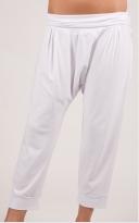 Kalhoty se sníženým sedlem dlouhé