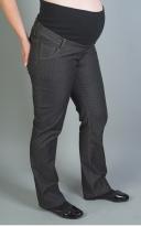 Džíny s vyšším bavlněným pásem